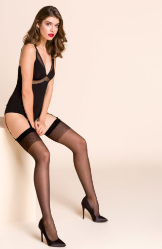 luxury black hold ups
